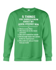 DENTAL HYGIENIST MOM Crewneck Sweatshirt thumbnail