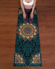 Mandala Beauty T5TF Yoga Mat 24x70 (vertical) aos-yoga-mat-lifestyle-24