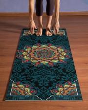 Mandala Beauty T5TF Yoga Mat 24x70 (vertical) aos-yoga-mat-lifestyle-26