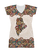 Maine Mandala Pattern T5TO All-over Dress thumbnail