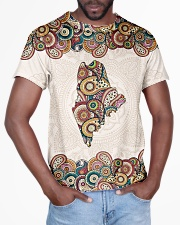 Maine Mandala Pattern T5TO All-over T-Shirt aos-all-over-T-shirt-lifestyle-front-03