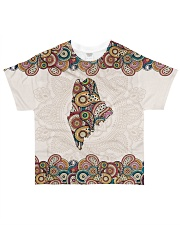 Maine Mandala Pattern T5TO All-over T-Shirt front