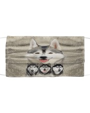 Awesome Siberian Husky G82719 Cloth face mask front