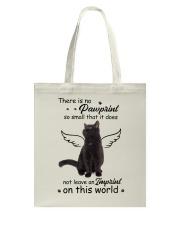 Cat Camp Mau White Tote Bag thumbnail
