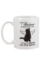 Cat Camp Mau White Mug back
