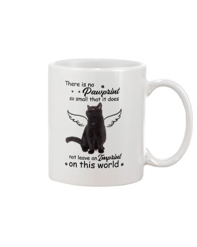 Pawprint Black Cat
