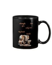 Elephant on my soul Mug tile