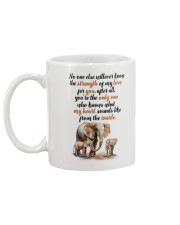 Elephant on my soul Mug back