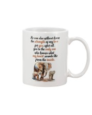 Elephant on my soul Mug front