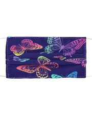 Colorful Butterfly G82403 Cloth face mask front
