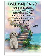 Shih Tzu Will Wait For You 11x17 Poster front