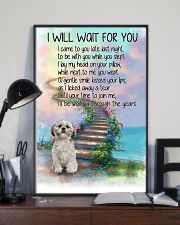 Shih Tzu Will Wait For You 11x17 Poster lifestyle-poster-2