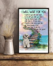 Shih Tzu Will Wait For You 11x17 Poster lifestyle-poster-3