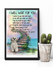 Shih Tzu Will Wait For You 11x17 Poster lifestyle-poster-8