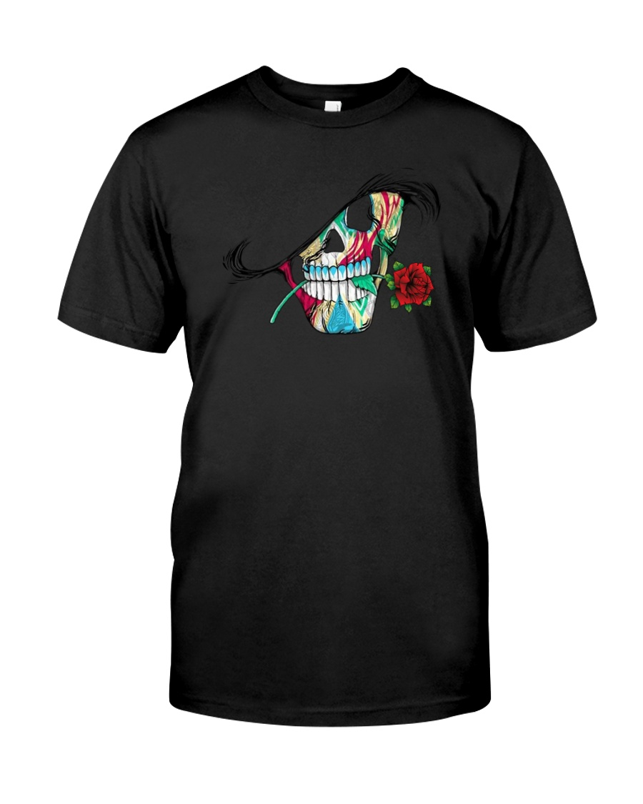 Skull Rose  Classic T-Shirt
