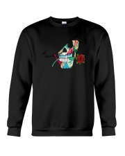 Skull Rose  Crewneck Sweatshirt thumbnail