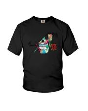 Skull Rose  Youth T-Shirt thumbnail