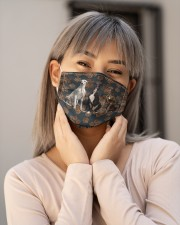 Greyhound Floral Paw H25840 Cloth face mask aos-face-mask-lifestyle-17