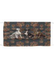 Greyhound Floral Paw H25840 Cloth face mask front