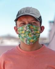 Tropical Pineapple Bulldog H25817 Cloth face mask aos-face-mask-lifestyle-06