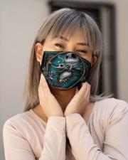 Jack Skellington G82605 Cloth face mask aos-face-mask-lifestyle-17