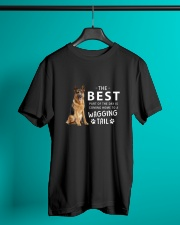 German Shepherd - Best part of the day Classic T-Shirt lifestyle-mens-crewneck-front-3