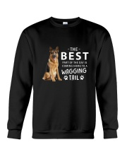 German Shepherd - Best part of the day Crewneck Sweatshirt thumbnail