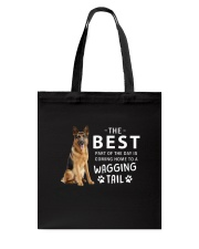 German Shepherd - Best part of the day Tote Bag thumbnail