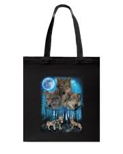 Team Wolf Tote Bag thumbnail