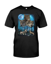 Team Wolf Classic T-Shirt front