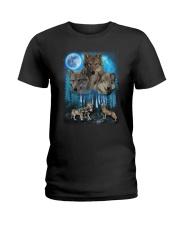 Team Wolf Ladies T-Shirt thumbnail