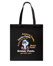 Annoyed Panda Tote Bag thumbnail