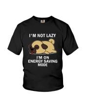 Lazy Pug Youth T-Shirt thumbnail