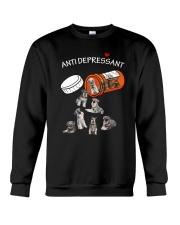 Standard Schnauzer Anti Crewneck Sweatshirt thumbnail