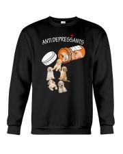 Golden Retriever Anti Crewneck Sweatshirt thumbnail