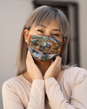 Dinosaur Forest H28850 Cloth face mask aos-face-mask-lifestyle-17