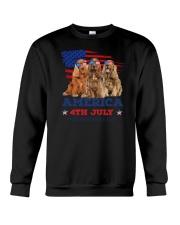 English Cocker Spaniel America Crewneck Sweatshirt thumbnail