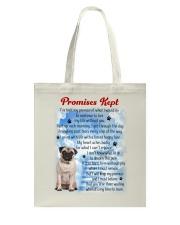 Pug - Promise kept Tote Bag thumbnail