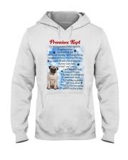 Pug - Promise kept Hooded Sweatshirt thumbnail