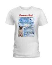 Pug - Promise kept Ladies T-Shirt thumbnail