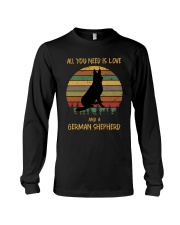 Love and a German Shepherd Long Sleeve Tee thumbnail