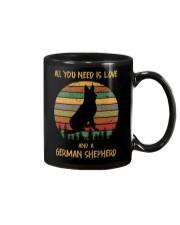 Love and a German Shepherd Mug thumbnail