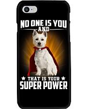 West Highland White Terrier Super Power Phone Case thumbnail