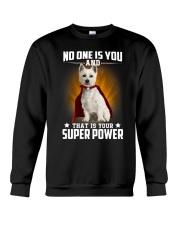 West Highland White Terrier Super Power Crewneck Sweatshirt thumbnail