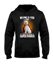West Highland White Terrier Super Power Hooded Sweatshirt thumbnail