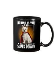 West Highland White Terrier Super Power Mug thumbnail