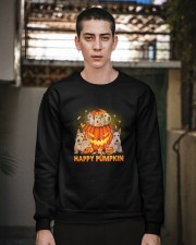 Scottish Terrier Happy Pumpkin Crewneck Sweatshirt apparel-crewneck-sweatshirt-lifestyle-02