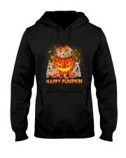Scottish Terrier Happy Pumpkin Hooded Sweatshirt thumbnail