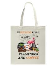Flamingos Runs On Tote Bag thumbnail