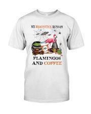 Flamingos Runs On Classic T-Shirt thumbnail